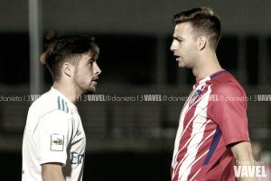 Atlético B - Real Madrid Castilla: escudos opuestos cara a cara