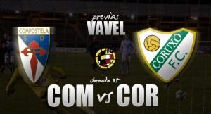 Previa SD Compostela - Coruxo FC: sálvese quién pueda