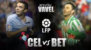 Celta de Vigo - Real Betis: objetivo, conseguir el mayor número de puntos posible