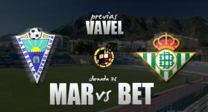Marbella - Betis B: necesidad de victoria