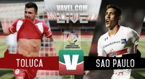 Toluca gana pero se despide de la Copa Libertadores frente a Sao Paulo