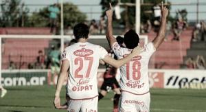 Soldano y Gamba, dueños de la delantera tatengue.