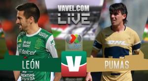 León vs Pumas en vivo hoy por Liga MX (3-0)