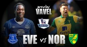 Everton - Norwich City: la última canción de un nefasto concierto