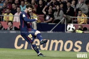 Las cuarenta dianas de Messi