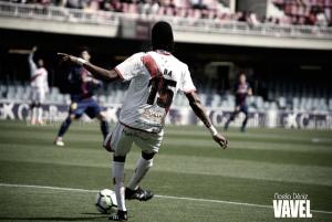 Abdoulaye Ba se perderá el duelo ante el Alcorcón