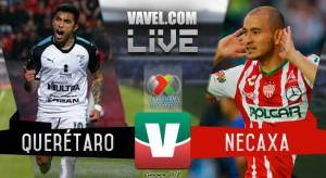 Resultado y goles del Querétaro vs Necaxa en Liga MX 2018 (1-1)