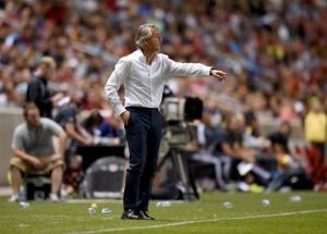 """Inter, Mancini: """"Buona gara"""""""