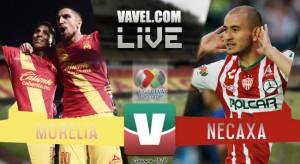 Resultado del partido Monarcas Morelia 2-2 Necaxa en Liga MX