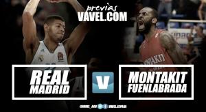 Previa Real Madrid - Montakit Fuenlabrada: el Ché busca asaltar la casa blanca