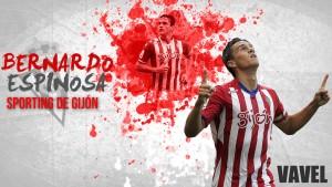 Sporting de Gijón 2015/2016: Bernardo, el muro colombiano
