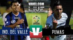 Independiente lo ganó 2-1 a Pumas