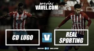 Previa CD Lugo - Sporting de Gijón: un golpe de efecto