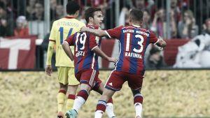 No retorno de Schweinsteiger, Bayern de Munique goleia o Hoffenheim e se isola na liderança