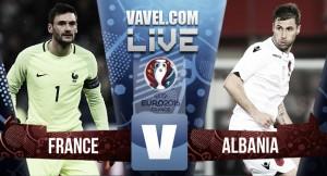 Francia 2-0 Albania: los galos sufren pero ya están clasificados
