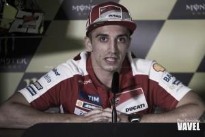 """Andrea Iannone: """"Estoy muy contento de volver a la pista"""""""
