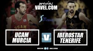 Previa UCAM Murcia - Iberostar Tenerife: prueba de fe