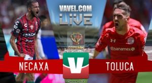 Resultado del Necaxa 1-0 Toluca en la Final de Copa MX 2018 (0-0)