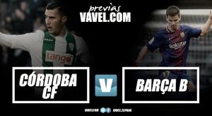 Previa Córdoba CF - FC Barcelona B: no es un día cualquiera