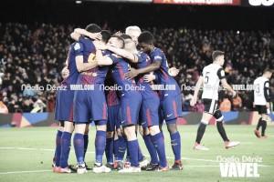 El Valencia sale vivo del Camp Nou