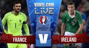 Risultato finale Francia - Irlanda, Ottavi di finale Euro 2016 in diretta (2-1): Griezmann porta la Francia ai quarti