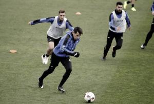 Hernán Pérez ya entrena con el grupo