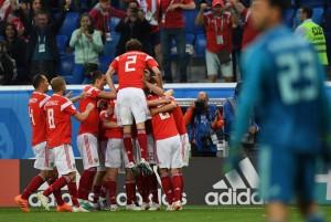 Russia 2018 - Padroni di casa agli ottavi, battuto l'Egitto 3-1