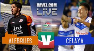 Alebrijes vs Celaya en vivo online en Ascenso MX 2016 (0-0)