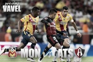Previa Monarcas - Atlas: Morelia busca su primera victoria en casa