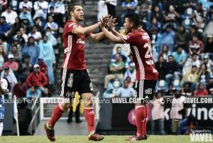 """Guido Rodríguez: """"Con suerte, pero nos mantenemos arriba"""""""