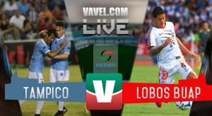 Partido Tampico Madero vs Lobos BUAP en vivo online en Ascenso MX Apertura 2016 (0-0)