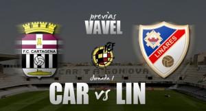FC Cartagena - Linares: volver a empezar