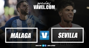 Previa Málaga CF - Sevilla FC: cumbre 28-F