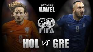 Holanda e Grécia realizam amistoso antes de iniciar trajetórias nas Eliminatórias