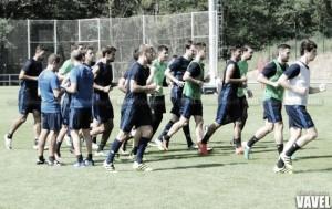 Plan de entrenamientos para el encuentro frente al Celta
