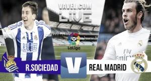 Resultado Real Sociedad 1x3 Real Madrid pelo Campeonato Espanhol 2017