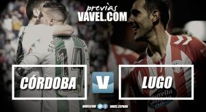 Previa Córdoba CF - CD Lugo: pasito a pasito