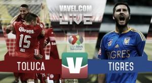 Toluca y Tigres no se hacen daño