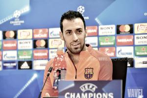 """Sergio Busquets: """"Estoy deseando que llegue el partido"""""""