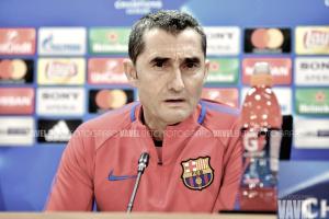 """Ernesto Valverde: """"Estamos obligados a hacer un gran partido"""""""