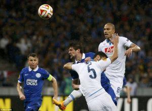 Seleznyov l'anti-Napoli. Dnipro in finale di Europa League. Le pagelle degli azzurri