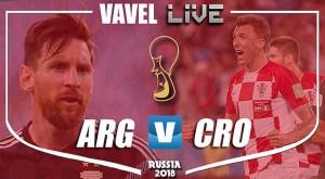 Resumen Argentina 0-3 Croacia en Mundial Rusia 2018