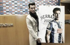 """Hernán Pérez: """"Hasta 2020 vivir cosas bonitas con el Espanyol sería muy bueno"""""""