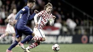 Modrić se estrella con Croacia en los minutos finales