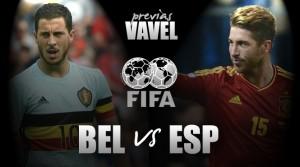 Previa Bélgica - España: un nuevo despertar