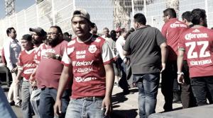 Violencia en el Estadio de Mineros