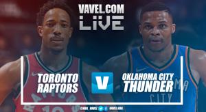 Resumen del Toronto Raptors 125-132 Oklahoma City Thunder en NBA 2018