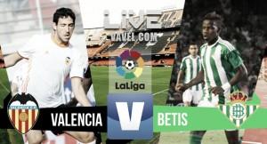 Valencia CF 2 - 3 Real Betis: Rubén Castro pone fin a la maldición de Mestalla