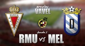 Real Murcia - UD Melilla: un choque para confirmar objetivos