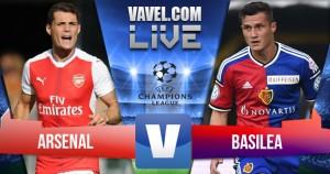 Partita Arsenal vs Basilea in diretta, UEFA Champions League 2016/17 Risultato finale: 2-0, doppietta di Walcott!